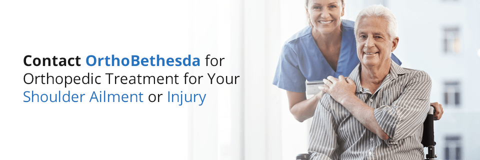 contact OrthoBethesda for shoulder surgery recovery