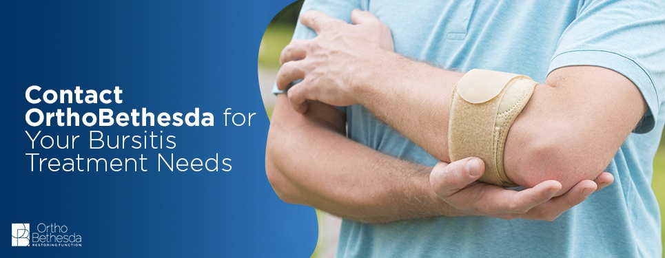 Contact OrthoBethesda for Bursitis Treatment