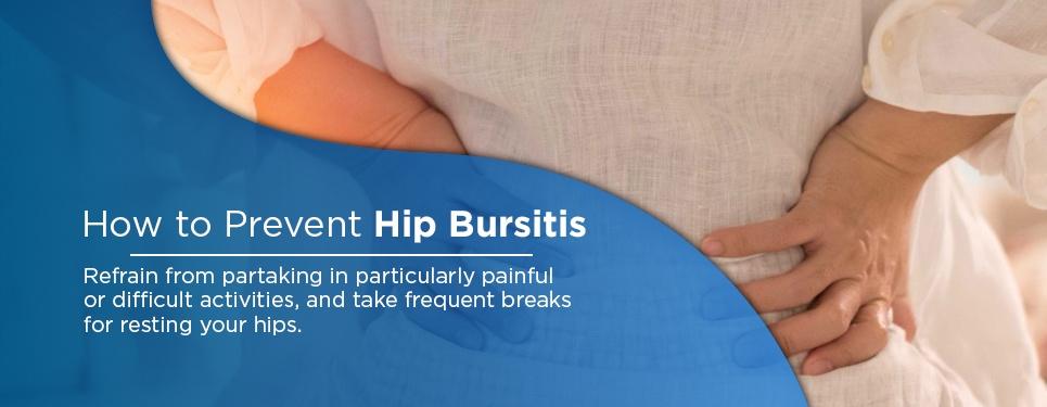 how to prevent hip bursitis