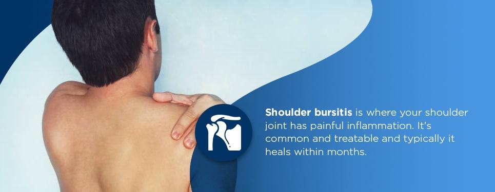 types of shoulder bursitis
