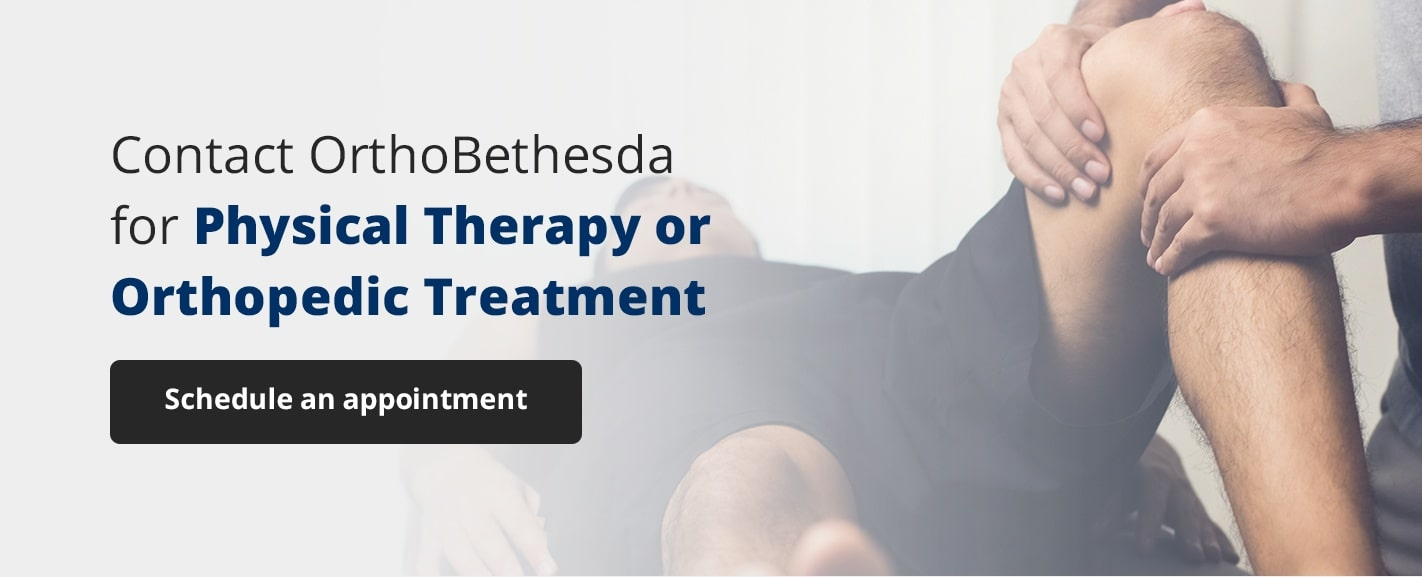 contact orthobethesda physical therapy