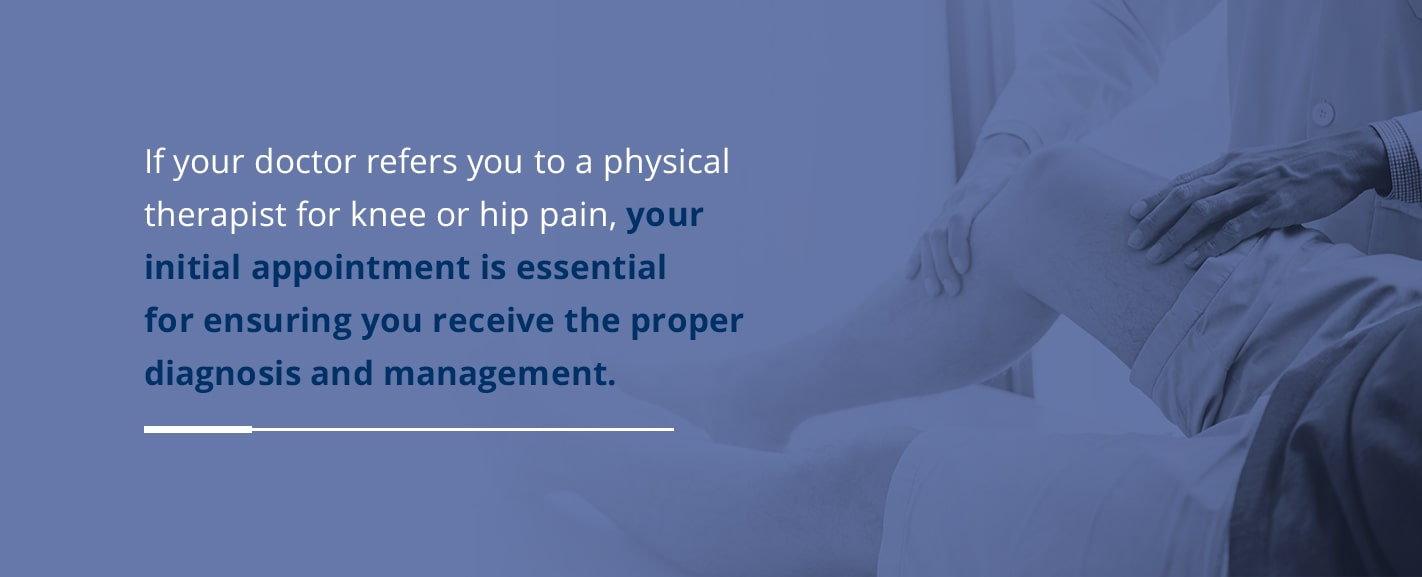 Physical Therapy Evaluation for Knee and Hip Pain