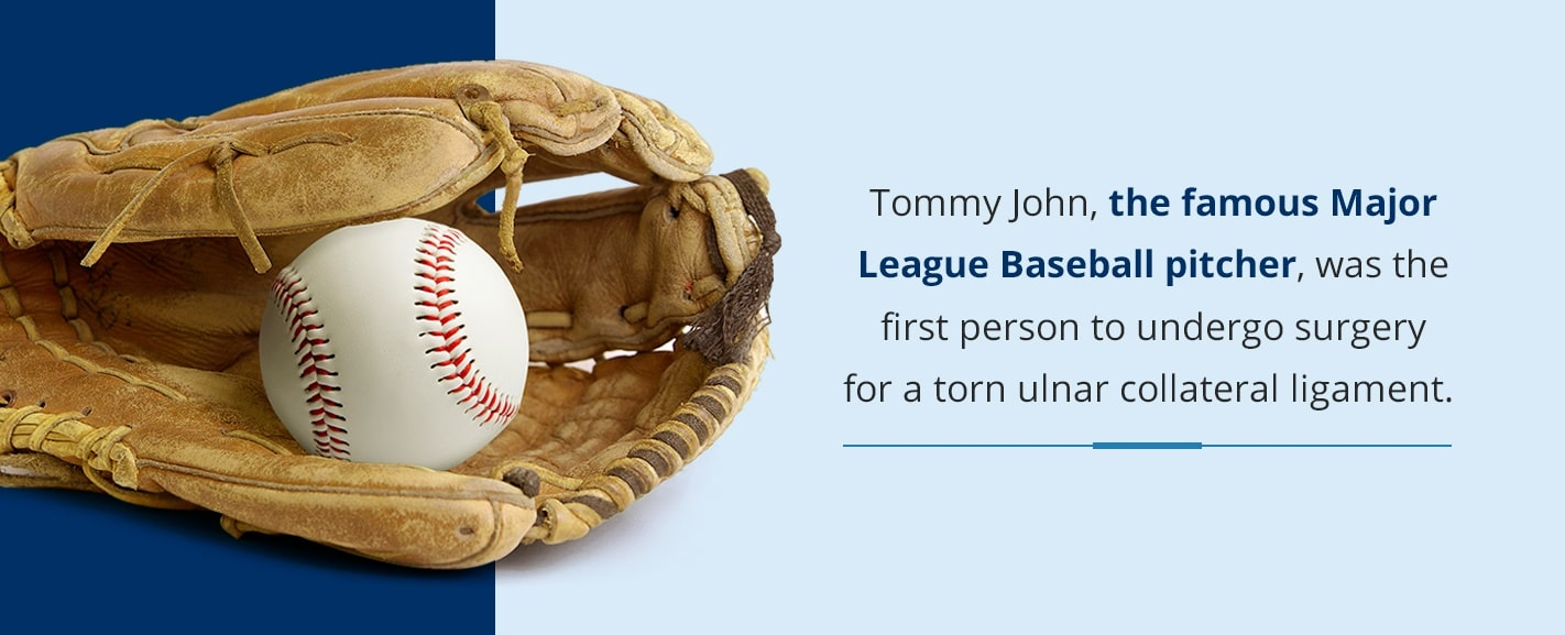 why its called tommy john surgery