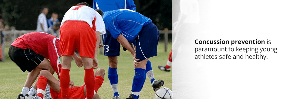 concussion prevention is paramount to keeping young athletes safe and healthy