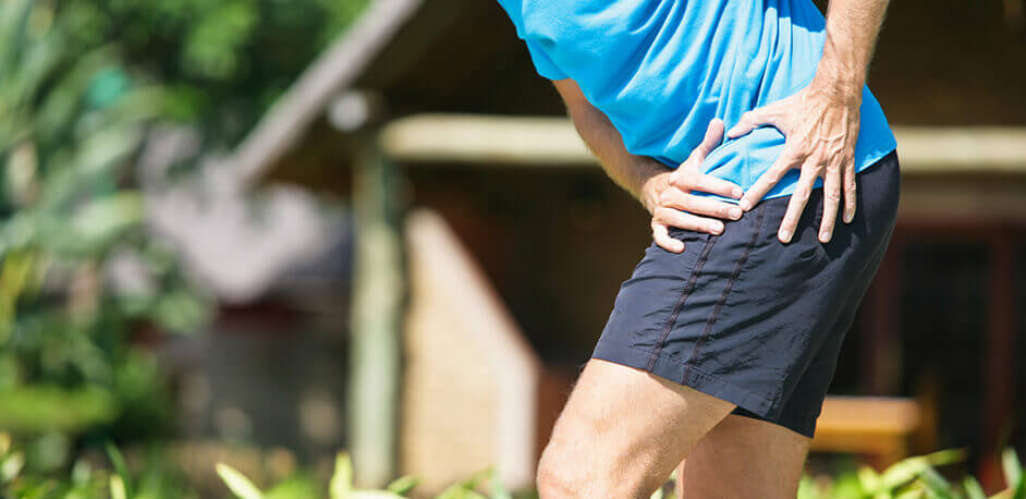 Runner Experiencing Hip Pain