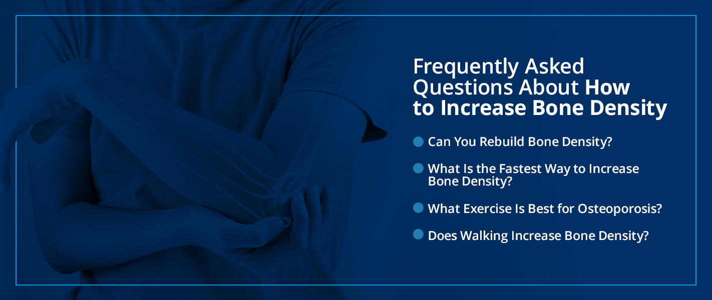 faqs about how to increase bone density