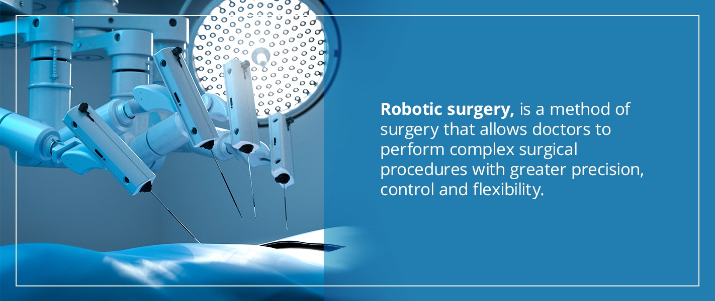 robotic surgery is a method of surgery that allows doctors to perform complex surgicl procedures with greater precision